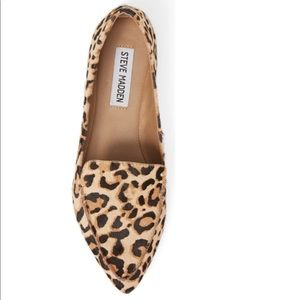 Steve Madden Feather-L Calf Hair Loafer